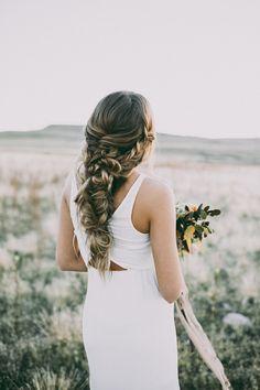 pretty bridal braid