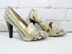 French Comic Book Heels. Thor. God of by Moonlightdecorator, $115.00
