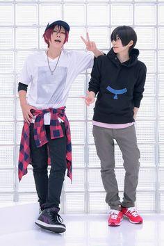 "roddy-stein: "" JUN (Rin) , kuryu (Haru) [no removing sources] """