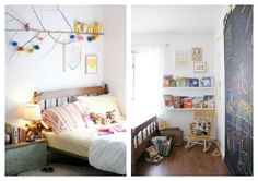 Remodelaholic   Home Sweet Home on a Budget: Girls' Bedrooms and a Linkup