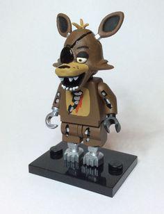 Foxy - Five Nights At Freddy s  FNAF Custom Lego Minifigure Mini Fig