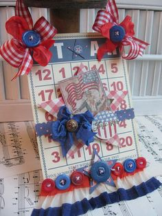 custom item for Michele only only only onl onl only Vintage style UNCLE SAM of july altered bingo card plaque sign decoration 4th July Crafts, Fourth Of July Decor, 4th Of July Decorations, 4th Of July Parade, July 4th, America Birthday, Bingo Cards, Custom Items, Memorial Day