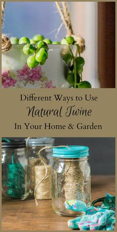 Learn about using natural jute twine in your home and garden. This biodegradable product is an inexpensive way assist in the garden and add to your decor.