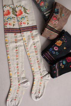 Dirndl socks