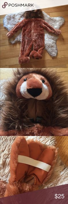 Adorable Toddler Lion 🦁 Costume EUC, only worn once for pictures that lasted less than half an hour. ❤️Reasonable offers accepted❤️ Authentic Kids Costumes Halloween