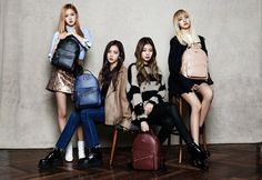 Black Pink rock a variety of bags as muses for 'St. Scott' | allkpop.com