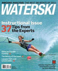 Waterski Magazine #Breannedodd #waterskigirls #waterski #Teamcanada #ski200 #nautiqueboats #thebalancedB