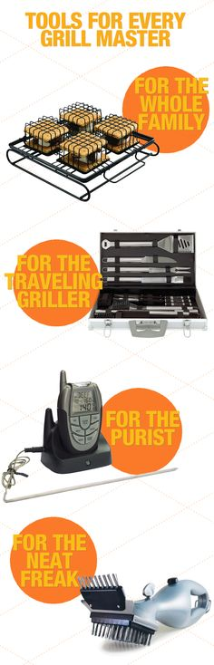 Heat up your next grill session with one of these grilling accessories. -Is that a special cage tool for s'mores? Grill N Chill, Grill Time, Grilling Tips, Grilling Recipes, Baby Grill, Backyard Cookout, Grillin And Chillin, Spark Up, Grill Accessories