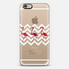 http://www.casetify.com/product/flamingo-silver-chevron-crystal-clear-transparent-iphone-case/iphone6/261