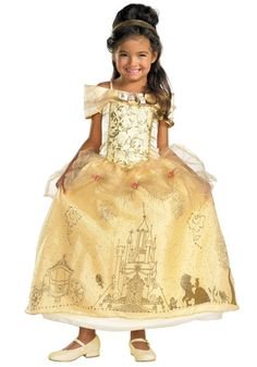 Kids Prestige Belle Costume