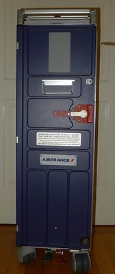 Air France airline food beverage trolley galley cart meal Swiss Delta KLM - NEW