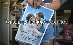 just girly things-- one of the best Nicolas sparks movies!