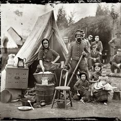 1861: US Civil Northern Infantry tent family