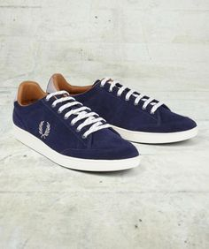 Fred Perry - Men's Hopman Suede Tennis Shoe