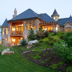 Country Style Stone And Stucco Home Dream Home Pinterest