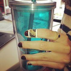 Manis + Cynthia Rowley #BandAids = happy fingers :) http://birch.ly/Otc2eu
