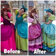The Tremaine Sisters updated look at Magic Kingdom November 2017 from Unofficial Disney Character Hunting Guide Facebook page