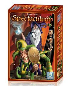 In Spectaculum, you determine the paths on which four traveling shows journey through an entire kingdom.