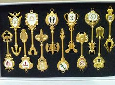 Zodiac keys from Fairy Tail :3