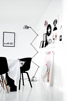 Black and White Inspiration from Forever Love - Nordic Design