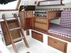Looks like the current galley in our Catalina 27