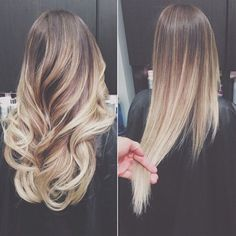 Going blonder one ombré shade at a time!