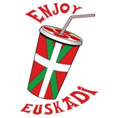 T-Shirt dessin   enjoy euskadi