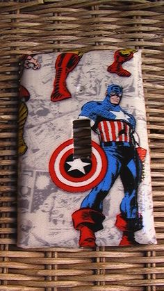 marvel light switch cover