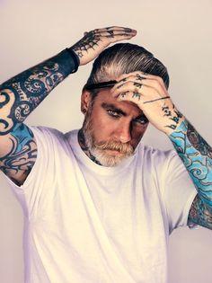Dieses Foto von Tattoo-Künstler Miles Better entstand bereits im Jahr 2004....