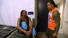 Jon & Trinity Fatu Backstage on Total Divas