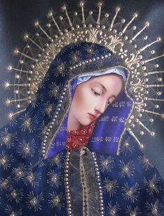 Happy Feast to all.💖💖💖 Our Lady of Sorrows pray for us, Divine Mother, Blessed Mother Mary, Blessed Virgin Mary, Religious Pictures, Religious Icons, Religious Art, Immaculée Conception, Our Lady Of Sorrows, Images Of Mary