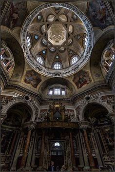 Church of San Lorenzo - Turin, Piemonte, Italy