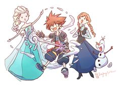 """thisiskarley: """"fishykays: """"Imagine all the cool new keyblades! Well, almost all. """" shut the fuck up this is my favorite. i will wait for kingdom hearts three for like 10 more years if they did..."""