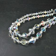Vintage 1950s Double Strand Choker - Prom from WickedDarling
