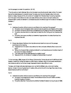 a wrinkle in time literary analysis essay guide common core harriet tubman parcc sbac common core aligned