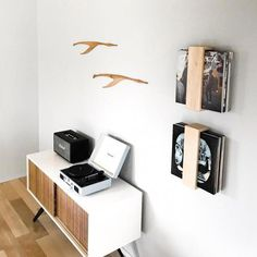 (Includes one shelf) This Vinyl Record Shelf is made from Ash or Walnut Hardwood. This minimalist shelf is perfect way to display vinyl records in your living room or office. I can make these in either Ash wood or American Walnut (No stains used). Since these shelves are handmade from hardwood, actual wood markings wil #shelfDecorating