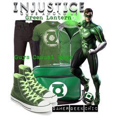 """Injustice: Gods Among Us - Green Lantern (Hal Jordan)"" by gamer-geek-chic on Polyvore"