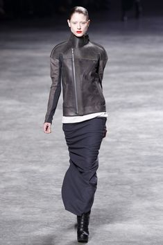 Visions of the Future // Rick Owens Fall 2011 Ready-to-Wear Fashion Show - Fabiana Mayer (MARILYN)
