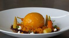 Gelbes Dessert: DULCE SCHOKOLADE | BERGAMOTTE | PASSIONSFRUCHT