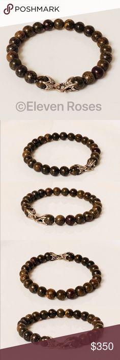 I just added this listing on Poshmark: David Yurman Bronzite Spiritual Bead Bracelet. Mens Designer Jewelry, David Yurman, Fashion Design, Fashion Tips, Fashion Trends, Jewelry Accessories, Spiritual, Beaded Bracelets, Cosmetics