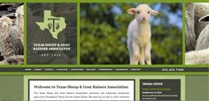 Visit the Texas Sheep & Goat Raisers Association website to see upcoming events and effective design at www.tsgra.com.