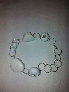 bratara alba portelan Armin, Jewelry Accessories, Beaded Bracelets, Fashion, Moda, Jewelry Findings, Fashion Styles, Pearl Bracelets, Fashion Illustrations