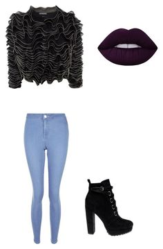 """Senza titolo #14"" by tittilove-1 on Polyvore featuring moda, Alexander McQueen, New Look e Daya"