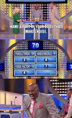 The Most Ridiculous Family Feud Answers In History. Poor Steve Harvey.