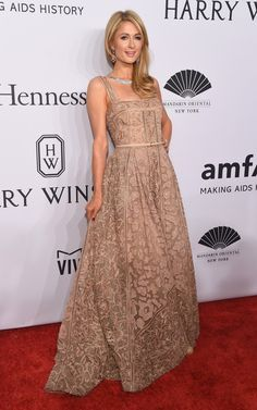 Paris Hilton em evento em Nova York, nos Estados Unidos (Foto: Michael Loccisano/ Getty Images/ AFP)