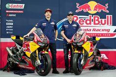Red Bull Honda World Superbike Team unveiled at Hangar-7