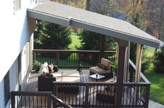 Patio Cover Roof Design Ideas | Decking, Porch and Patios