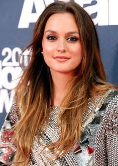 50 Best Ombre Hair Color Ideas for 2014 | herinterest.com - Leighton Meester Ombre Hair Color Idea: Brown to blonde ombre