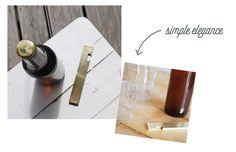 Flaschenöffner Simple Elegance, Elegant, Bottle Opener, Barware, Wall, Guys, Gifts, Dapper Gentleman, Key Bottle Opener