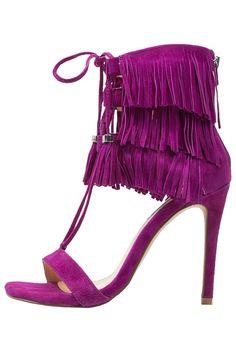 Talons hauts Steve Madden SHAY - Sandales à talons hauts - purple violet   136, eab29d8ce3df